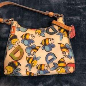 Dooney and Burke cute mini bag with bee detail